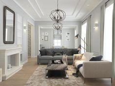 Дизайн интерьера загородного дома 300 м2 в КП Бристоль Oversized Mirror, Furniture, Home Decor, Decoration Home, Room Decor, Home Furnishings, Home Interior Design, Home Decoration, Interior Design