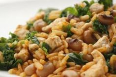 Black-Eyed Peas Recipe  http://www.food2goodhealth.com/Recipe/Healthy/Low-Saturated-Fat/Black-Eyed-Peas-Recipe.aspx/1162.656_90819.126_1