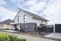 blume einfamilienhaus von fertighaus weiss gmbh hausxxl stadthaus fertighaus modern. Black Bedroom Furniture Sets. Home Design Ideas