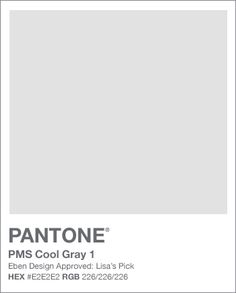 pantone gray - Google Search