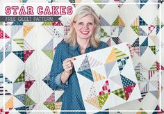 Star Cakes: Free Quilt Pattern with Fat Quarter Shop - Fat Quarter Shop's Jolly Jabber