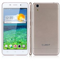 """$ 128,46 from aliexpress CUBOT X9 5.0"""" IPS MT6592M Octa-Core 1.4Ghz Android 4.4 3G smartphone 16GB ROM 2GB RAM 13.0MP 5.0MP - White"""