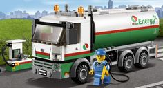 LEGO.com City Products - Great Vehicles - Tanker Truck