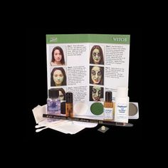 Mehron Character Makeup Kit http://beautyjoint.com/special/mehron-character-makeup-kit/