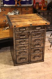 furniture old industrial purposes