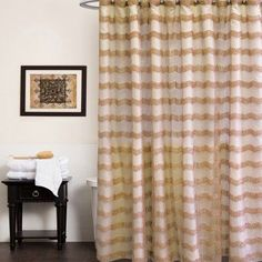 Sweet Home Collection Popular Bath Chateau Bathroom Shower Curtain - CHAT-SC-758