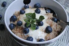 Haferbrei Grundrezept Sugar Free, Quinoa, Oatmeal, Food And Drink, Sweets, Breakfast, Desserts, Korn, Diabetes