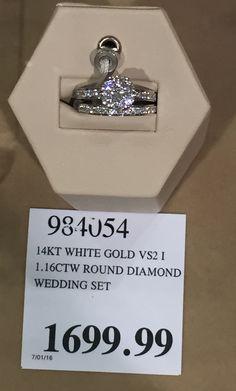 Costco Diamond Ring And Wedding Band | Sparkle | Pinterest | Costco,  Weddings And Dream Wedding