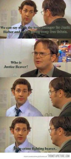 hahaha Jim and Dwight
