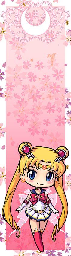 Sailor Moon bookmark by Marc-G.deviantart.com on @deviantART
