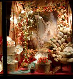 Hermes window displays in Paris