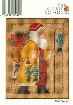 1992 Prairie Schooler Santa