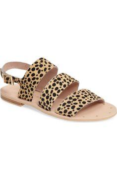 Main Image - Matisse Owen Genuine Calf Hair Sandal (Women)