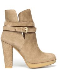 Zara High Heel Crepe Ankle Boot ($30) ❤ liked on Polyvore featuring shoes, boots, ankle booties, heels, zapatos, ankle boots, high heel boots, zara boots, heeled bootie and high heel booties