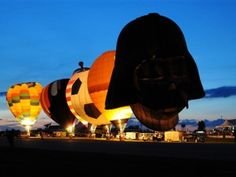 Night time glow at the All Ohio Balloon Fest ~ Marysville, OH