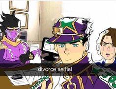 Anime Meme, Funny Anime Pics, Jojo's Bizarre Adventure Anime, Jojo Bizzare Adventure, Manhwa, Jojo Anime, Jotaro Kujo, Jojo Memes, Jojo Bizarre