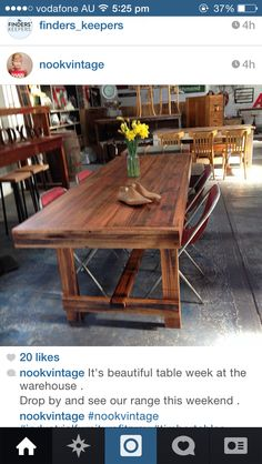 Table from Nook Vintage Nook, Table, Inspiration, Beautiful, Vintage, Biblical Inspiration, Nooks, Tables, Zug
