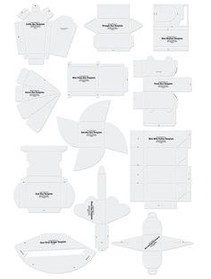 1c812554e58b Free Printable Box Templates by magdalena.berger.940 Printable Box