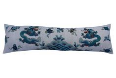 Twin Dragon Opera Robe Body Pillow