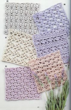 Crochet patterns | Free patterns Moss ༺✿ƬⱤღ  https://www.pinterest.com/teretegui/✿༻