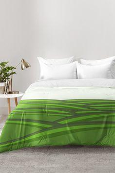Viviana Gonzalez Greenery Sensation 02 Comforter | DENY Designs Home Accessories