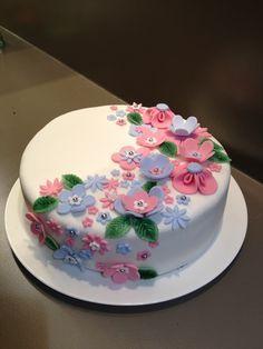 taart decoreren met fondant - Google zoeken