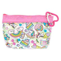 Girls Bags, Purses & Bag Charms | Claire's Toothbrush Storage, Stainless Steel Lunch Box, Floppy Straw Hat, I Love Girls, Tween Girls, Glitter Flowers, Ty Beanie Boos, Unicorn Pattern, Travel Toiletries