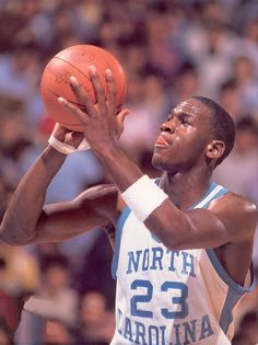 Michael Jordan! Can't have a board honoring all of the athletes that have come through the University of North Carolina without starting with him!