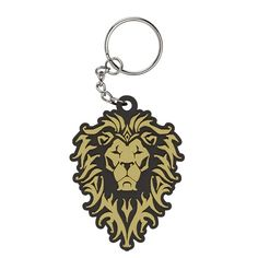 J!NX : Warcraft Movie Alliance Logo Rubber Keychain