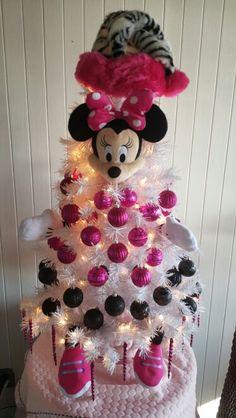 Minnie mouse Christmas Tree Más