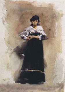 Inspirational Artworks: Sargent Paintings