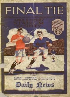 1927 FA Cup Final Programme