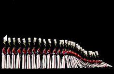 human domino effect