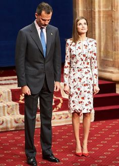 Queen Letizia and King Felipe attend the Princess of Asturias Award 2016