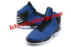 finest selection 4990b fdc1e Adidas adiZero Dominate Rose 2012 Shoes Blue Black White. Blue ShoesBlue  SneakersAir Max SneakersSneakers NikeDerrick ...