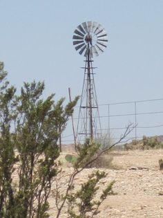 Windmill in west Texas