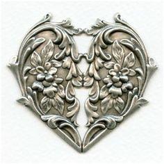 Equipamiento Y Maquinaria Ingenious Plateado Candado Corazón Opcional Mensaje Caja Grabado Cupido San Valentín Seguridad/mantenimiento Instal.