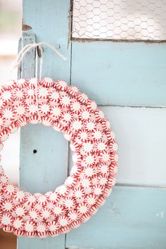 peppermint wreath!