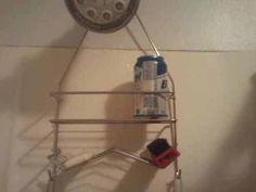 beer in the shower....WIN!