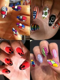 best-manicure-ideas-summer-2012-bright-colors