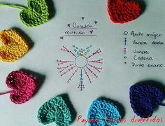 Racetrack Rug (free crochet pattern -- must make for my little boy when he's old enough to play with cars :). Crochet Applique Patterns Free, Crochet Flower Patterns, Crochet Diagram, Crochet Chart, Love Crochet, Crochet Gifts, Crochet Motif, Easy Crochet, Crochet Flowers