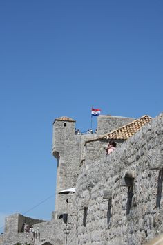 Vanhankaupungin korkein paikka Mincetan linnoitus. Fort Minceta from the 15th century. #Dubrovnik