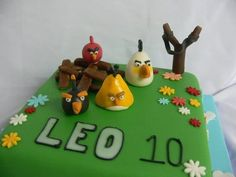 Angry Birds  Cake by abonnieweecake