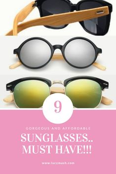 A must have collection. Trendy Accessories, Bamboo, Sunglasses, Wood, Collection, Fashion, Moda, Woodwind Instrument, Fashion Styles