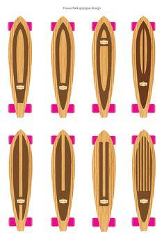The two stripes down the middle Longboard Design, Skateboard Design, Grip Tape Designs, Long Skateboards, Skate Girl, Tape Art, Used Trucks, Board Art, Snowboards