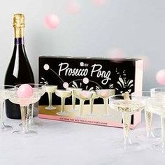 Move over beer, Prosecco Pong is the new drinking game that everyone is talking about. Buy yours at The Present Finder. #beerengagement