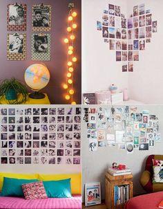 Tem uma parede branca sem graça na sua casa? Vem aprender 5 idéias para decorar sem estragar a parede original!
