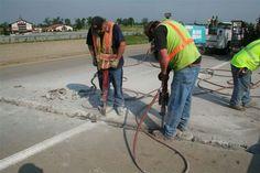 Cleaning bridge joints
