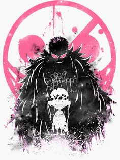 'Doflamingo Art' Poster by One Piece Manga, Doflamingo Wallpaper, Zoro, Anime Manga, Anime Art, Anime Pirate, One Piece Tattoos, Kunst Poster, 0ne Piece
