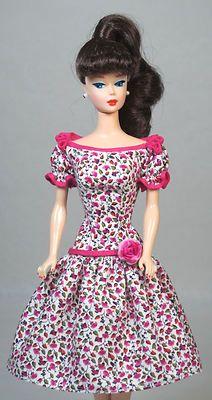 Let's Dance Vintage Barbie Silkstone Barbie Doll Fashion Dress Clothing Zipper | eBay